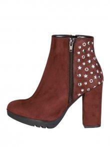 Made in Italia Dámská kotníková obuv na podpatku DORA_TDM\n\n
