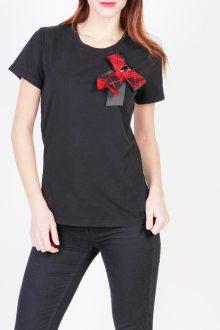 Černé tričko Pinko Barva: černá, Velikost: S