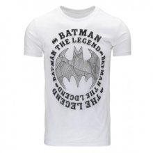 Pánské tričko s potiskem (triko) Batman bílé