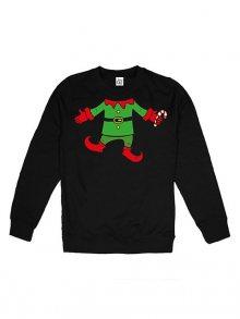 Christmas T-shirt Pánská mikina GOMCS052BLK\n\n