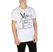 Bílé tričko Versace Jeans Barva: Bílá, Velikost: S