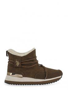 U.S. Polo ASSN. Dámská zimní obuv FRIDA4099W8_H1_BRW\n\n
