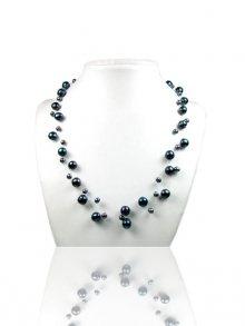 Ocean Pearl Dámský náhrdelník BPS 0200 Y BLACK\n\n