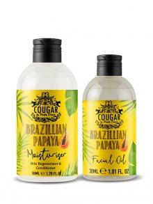 Cougar Hydratační krém + pleťový olej - papája\n\n