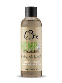 Cougar Konopný olej pro tělo a vlasy\n\n