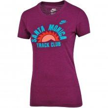 Nike Tee-Ru Santa Monica Tc fialová M
