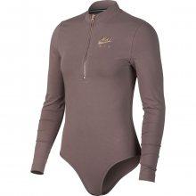 Nike W Nsw Air Bodysuit Ls vínová S