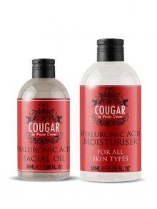 Cougar Hydratační krém + pleťový olej s kys. hyauluronovou BPCOR24\n\n