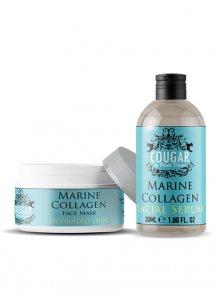 Cougar Pleťová maska + sérum s mořským kolagenem\n\n