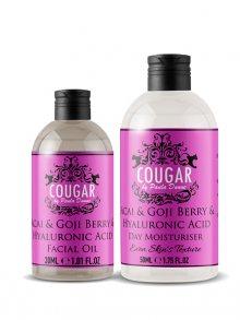 Cougar Hydratační krém + pleťový olej - acai/goji\n\n