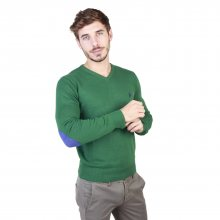 Zelený svetr U.S. Polo Barva: Zelená, Velikost: S