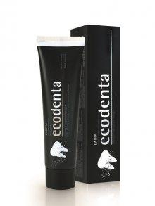 Ecodenta Černá bělicí zubní pasta s uhlím a extraktem Teavigo, 100 ml\n\n