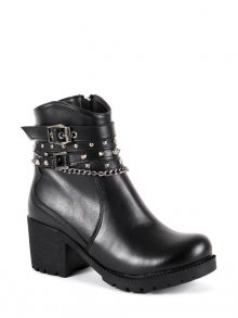 SAPIN Dámské kotníkové boty 36115_BLACK\n\n