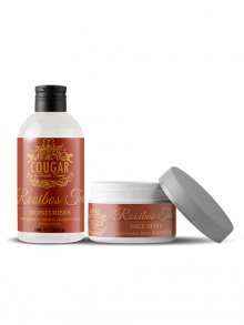 Cougar Hydratační krém + pleťová maska rooibos\n\n