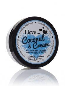 I love... Tělový krém - kokos\n\n