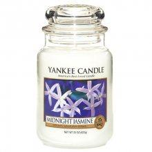 Yankee candle Vonná svíčka ve skle - půlnoční jasmín, 623g\n\n