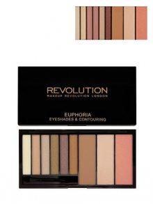 Makeup Revolution Paletka na oči a tvář - bare euphoria\n\n