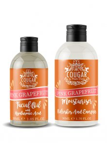 Cougar Hydratační krém + pleťový olej - grep\n\n
