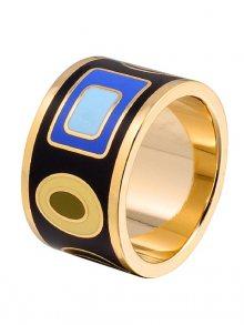 Rose Salome Jewels Dámský prsten R005L_BLACK TURQUOISE BLUE\n\n