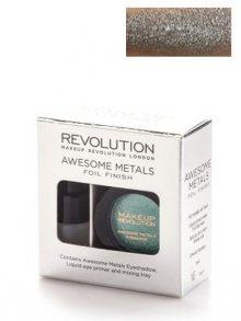 Makeup Revolution Metalické dlouhodržící oční stíny\n\n