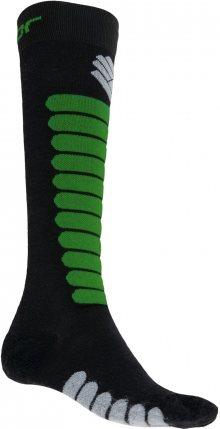 Sensor Lyžařské ponožky 1076997_černá/zelená\n\n