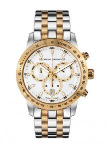 Chrono Diamond Pánské hodinky 12100E Herrenuhr Theseus Two Tone\n\n