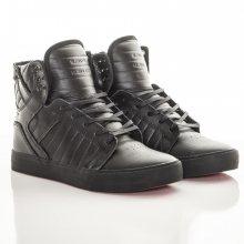 Tenisky Black Leather Skytop černá 40