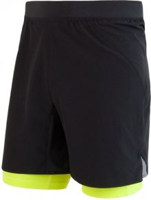 Sensor Pánské sportovní kraťasy 1118895_černá/žlutá\n\n
