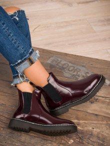 SMALL SWAN Dámské kotníkové boty K109WI