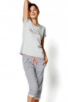Dámské pyžamo 35248 Riya 09x grey