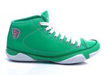 Úžasně pohodlné zelené kotníčkové tenisky