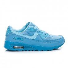 Stylové a pohodlné dámské tenisky - modré