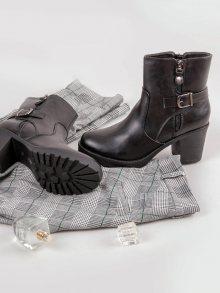 SMALL SWAN Dámské kotníkové boty Q609B