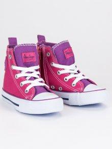 AMERICAN CLUB Dětská sportovní obuv LH-9120F/PU/W