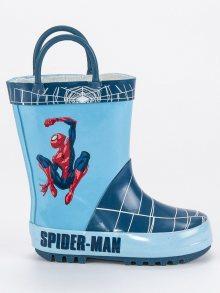 Chlapecké modré holínky Spiderman