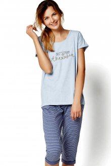 Dámské pyžamo 35248 Riya 50x blue