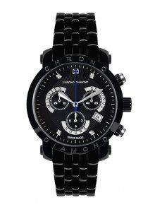 Chrono Diamond Pánské hodinky 10600G Herrenuhr Nestor Schwarz IP\n\n