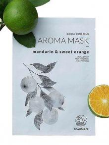 Beaudiani Aromatická textilní maska na obličej - Mandarinka a Pomeranč\n\n