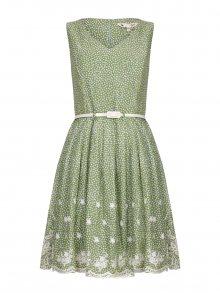 Yumi Dámské šaty YM388_GREEN
