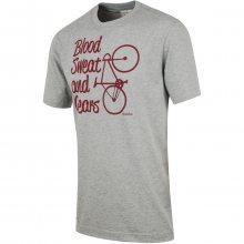 Brakeburn Blood Sweat And Gears Tee šedá L