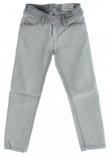 Jeans dětské Diesel   Šedá   Dívčí   4 roky