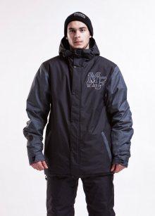 MEATFLY Pánská snowboardová bunda Strike_aw15 černá\n\n