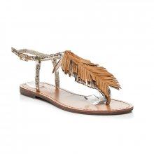 Neznámý výrobce Dámské sandály LS056GO