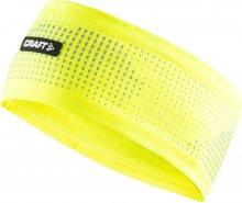 Craft Unisex běžecká čelenka_žlutá\n\n