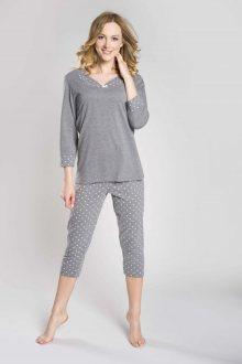 Dámské pyžamo Damia plus melange