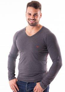 Pánské tričko Emporio Armani 111742 8A523 L Tm. šedá