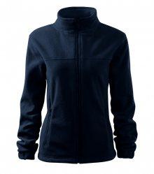 Dámská fleecová mikina Jacket - Námořní modrá | XL