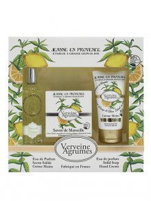 Jeanne en Provence Dárková sada Verbena a citrón - parfémovaná voda, mýdlo a krém na ruce\n\n