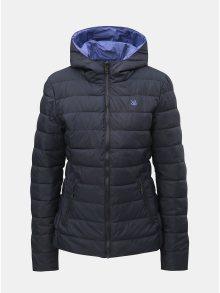 FIalovo-šedá dámská oboustranná vodeodpudivá bunda s kapucí LOAP Irisa