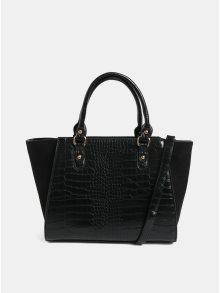 Černá kabelka s hadím vzorem Dorothy Perkins